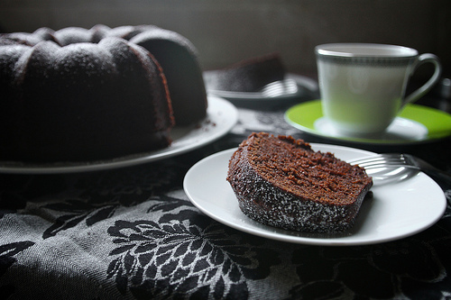 Earl Gray Chocolate Cake