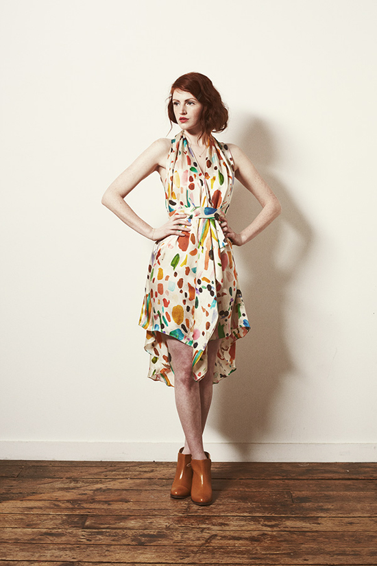 honey-kennedy-samantha-pleet-fall-2013-composition-dress