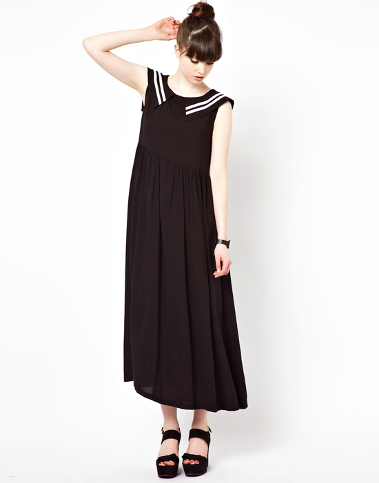 honey-kennedy-black-midi-sailor-dress