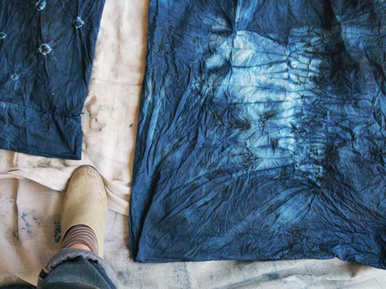 honey-kennedy-lecole-des-beaux-arts-brooklyn-indigo-dye-class-04