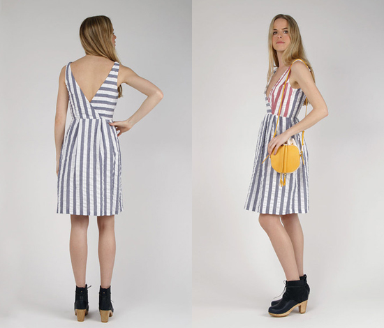 rachel antonoff dress at swords-smith via honey kennedy
