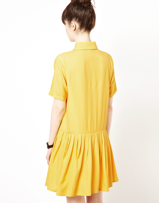 honey-kennedy-yellow-drop-waist-dress-back
