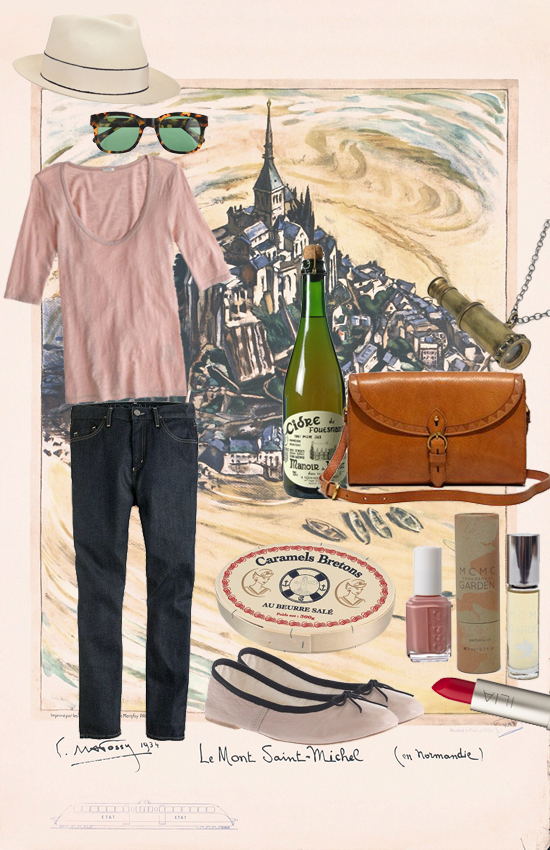 honey-kennedy-dream-outfit-le-mont-saint-michel