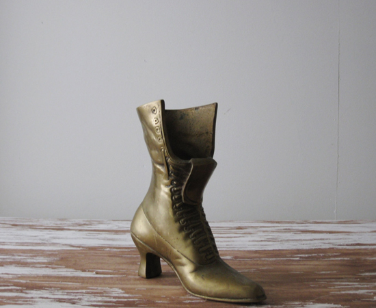 honey-kennedy-kindling-vintage-brass-victorian-boot-planter