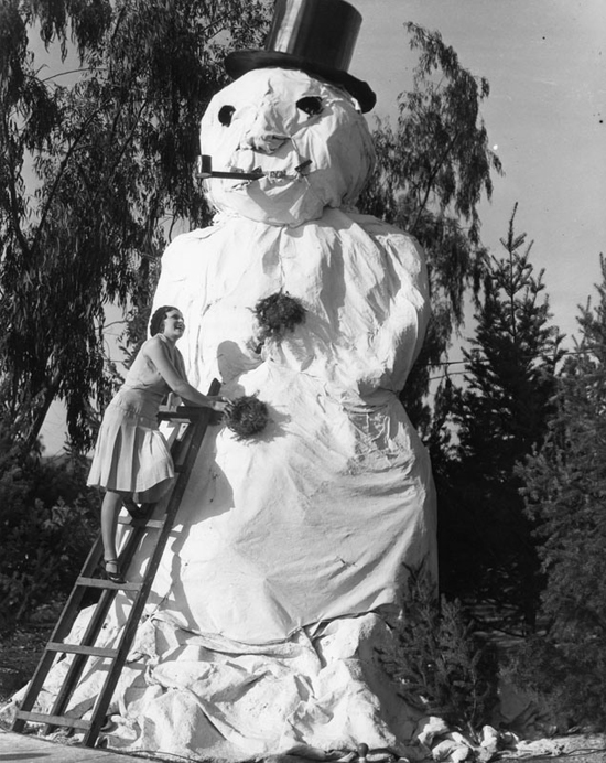 Honey Kennedy : 1929 California Snowman