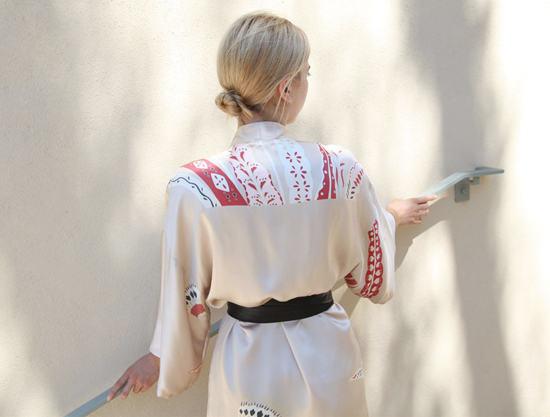 honey-kennedy-kimono-vintage-feather