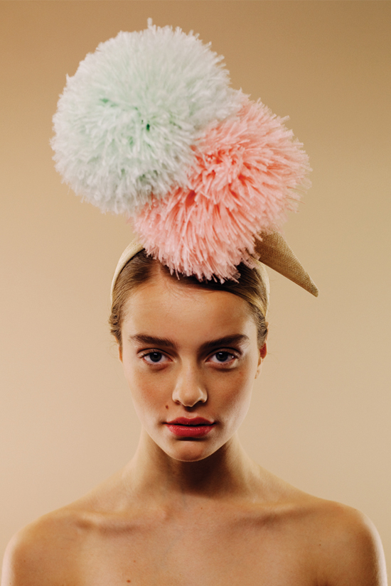 honey-kennedy-awon-golding-millinery-london-ice-cream-colori-gelato-doppio