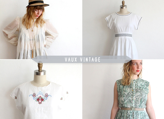 Honey Kennedy Vaux Vintage Spring Faves and promo codes