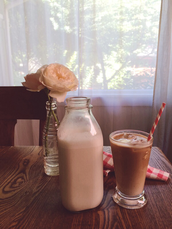 Honey Kennedy recipe: Cardamom Rose Vanilla Cashew Milk