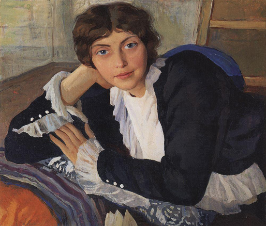 honey-kennedy-Zinaida-Serebriakova-portrait-of-lola-braz-1910