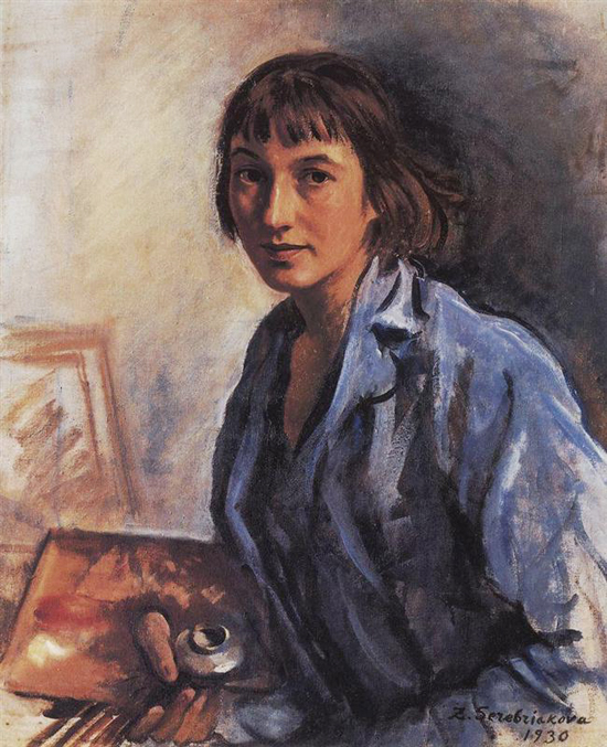 honey-kennedy-Zinaida-Serebriakova-self-portrait-1930