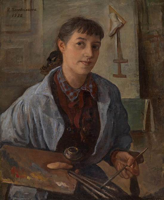 honey-kennedy-Zinaida-Serebriakova-self-portrait-1938