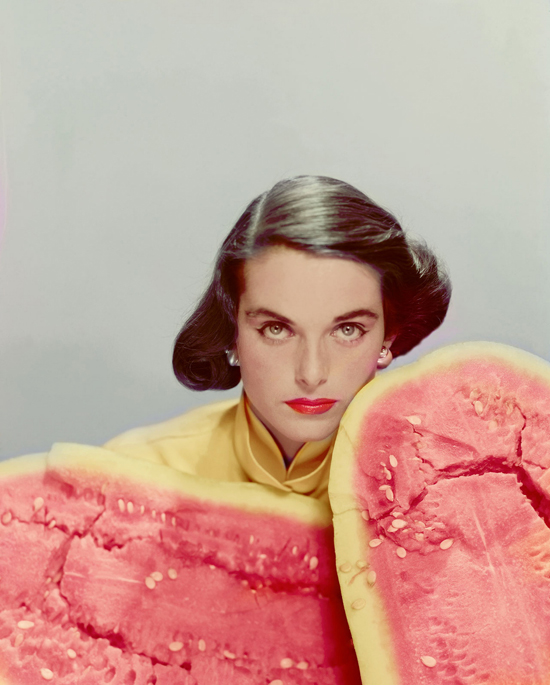 honey-kennedy-vogue-watermelon-erwin-blumenfeld-1951