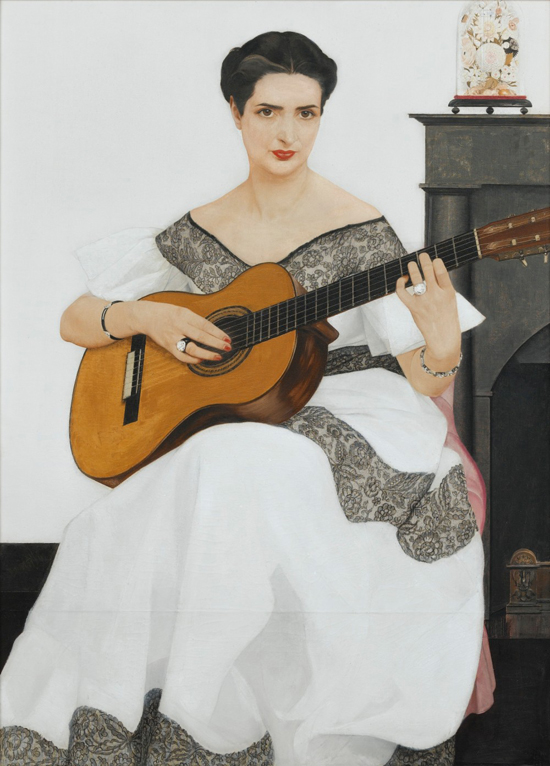 honey-kennedy-bernard-boutet-de-monvel-paintings-1936-delfina-playing-guitar-06