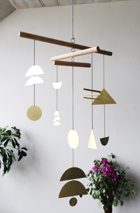 Nice honey kennedy electric sun creatives mobiles brass wall