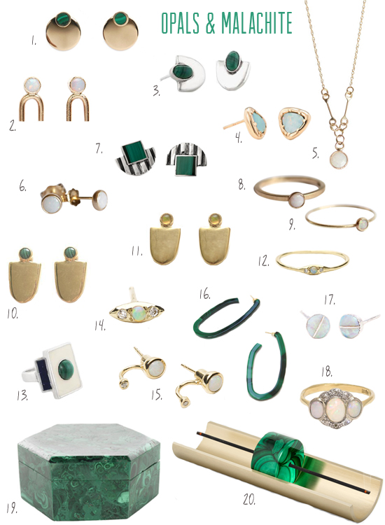 honey-kennedy-opals-and-malachite-jewelry