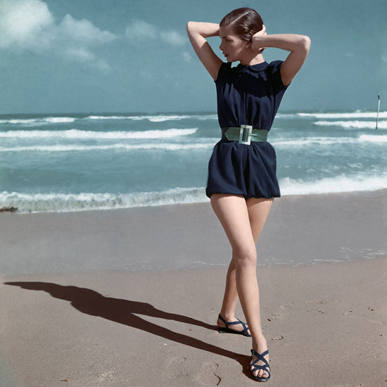 honey-kennedy-blue-swimsuit-by-caroline-schnurer-clifford-coffin-1946