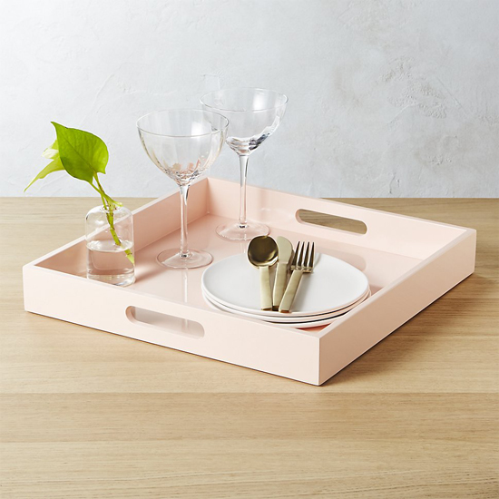 honey-kennedy-cb2-hi-gloss-square-pink-tray